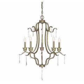 image-Grateron 5-Light Candle Style Chandelier Fleur De Lis Living