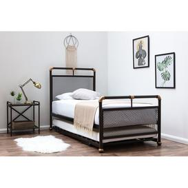 image-PePPer Daybed with Trundle Williston Forge Mattress Included: 12cm Memory Foam/23cm Open Coil Spring