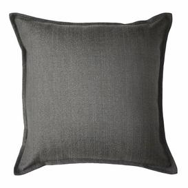 image-Roth Cushion with Filling Brambly Cottage Colour: Charcoal Grey, Size: 49 x 49cm