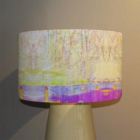 image-London Eye Tree Drops Cotton Drum Lamp Shade
