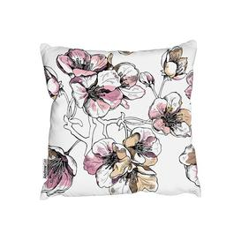 image-Illustration Cushion with Filling Andrew Lee Size: 45cm H x 45cm W x 20cm D