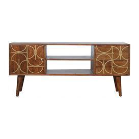 image-Inca 2 drawer 1 door TV unit