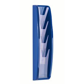 image-Panorama Magazine Rack Symple Stuff Size: 52.1 cm H x 13.4 cm W, Finish: Blue