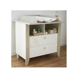 image-Orsang Childrens Chest of Drawers In White With 2 Drawers