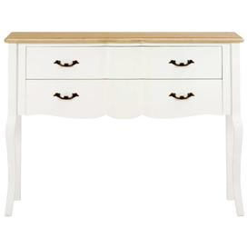 image-Epes Console Table Lily Manor Colour (Table Top): Brown