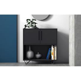 image-Phantom Black Sideboard - 68cm