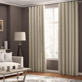 image-Shives Blackout Thermal Curtains ClassicLiving Colour: Beige, Panel Size: 168 W x 137 D cm