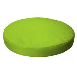 image-Bar Stool Cushion Sol 72 Outdoor Colour: Lime, Size: 4cm H x  33cm W x 33cm D