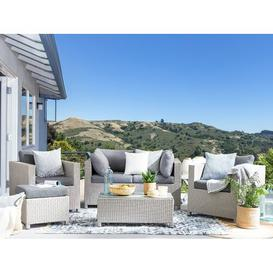 image-Crume 4 Seater Rattan Sofa Set Sol 72 Outdoor