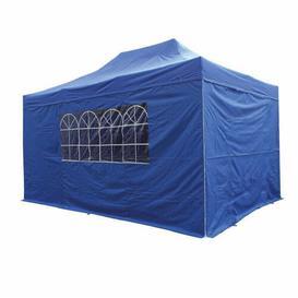 image-ZiZi 3m x 4.5m Pop Up Gazebo Sol 72 Outdoor Roof Colour: Blue