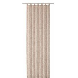 image-Alcorn Tab Top Room Darkening Curtains Ophelia & Co. Size: 225cm L x 135cm W, Colour: Beige