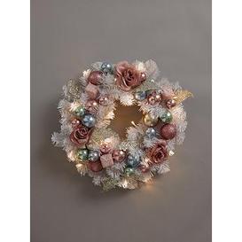 image-Winter Blossom Christmas Wreath