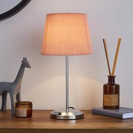 image-Jali Pink Touch Dimmable Table Lamp Pink