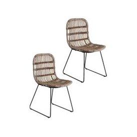 image-Tabarca Rattan Chair Set of Two