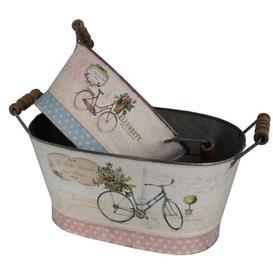 image-Meaghan 2 Piece Bicycle Decorative Box Set Lily Manor
