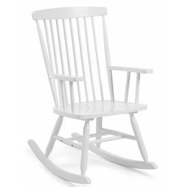 image-Alleman Rocking Chair Mack + Milo Colour: White