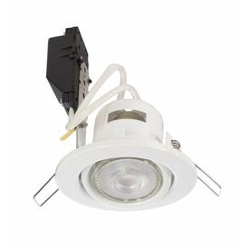 "image-Deneb 10"" LED Recessed Lighting Kit Deko Light Colour: White"