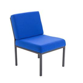 image-Modular Reception Rubic Guest Chair Brayden Studio Colour: Royal Blue Pyra