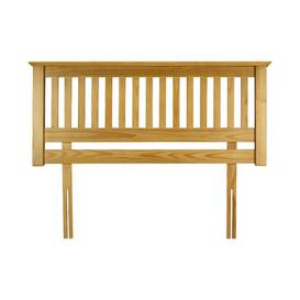 image-Burrowes Headboard Three Posts Size: Double (4'6), Colour: Pine