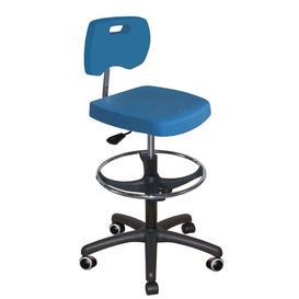 image-Mcmullin Draughtsman Chair Ebern Designs Colour: Blue