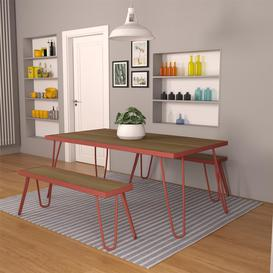 image-Allie 4 Seater Dining Set