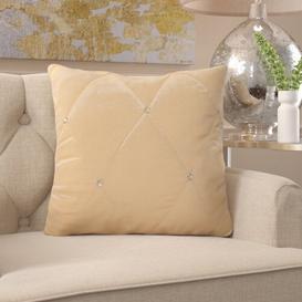 image-Longridge Cushion Cover Fairmont Park Size: 55 x 55cm, Colour: Cream