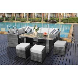 image-9 Seater Sectional Sofa Set Sol 72 Outdoor