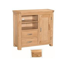 image-Empire Wooden TV Sideboard With 1 Door And 2 Drawers
