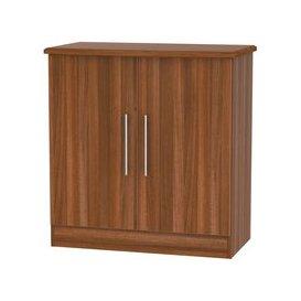 image-Welcome Living Room Furniture Noche Walnut Hall Unit - 2 Door