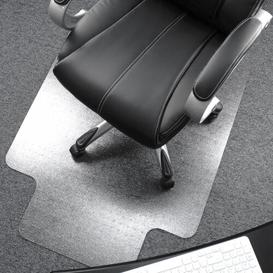 image-Cleartex Ultimat Chair Mat for Low To Medium Pile Carpets Floortex Size: 129cm x 134cm