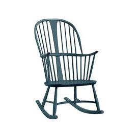 image-Ercol - Originals Chairmakers Rocking Chair - Blue