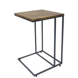 image-Madelyn Wooden Side Table Hykkon