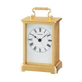 image-Seiko Mantle Clock Seiko Colour: Gold