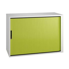 image-Campos Low Tambour Unit (Green), Green
