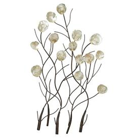 image-Maria Metal Capiz Wall Decor Lily Manor