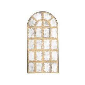 image-Valeras Antiqued Glass Arched Mirror