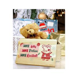 image-Personalised Peppa Pig Christmas Eve Box