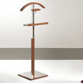 image-Behn Valet Stand Ebern Designs Finish: Cherry