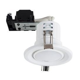 image-Batts 8cm Recessed Lighting Kit Symple Stuff Trim Finish: Matt White, Bulb Colour: Warm White