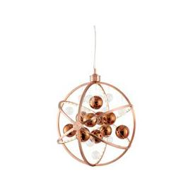 image-Muni Wall Hung Pendant Light In Copper