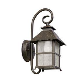 image-Persefone Outdoor 1 Light Aluminium Downlight Wall Lantern - 2 Only