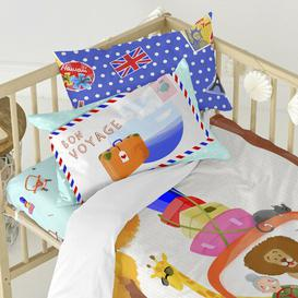 image-Whitehead 150 Thread Count 100% Cotton Fitted Sheet Isabelle & Max Size: Toddler (70 x 140cm)