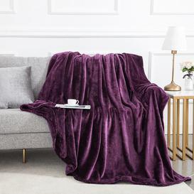 image-Climax Blanket Fairmont Park Size: W150 x L200cm, Colour: Purple