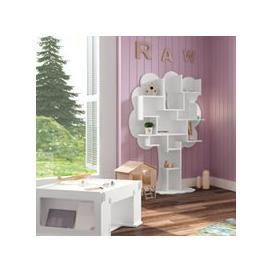 image-Mathy by Bols Louane Small Tree Bookcase - Mathy Linnen