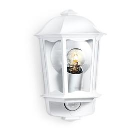 image-1 Light Outdoor Wall Lantern with Sensor Steinel Finish: White