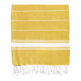 image-2 Piece Quick Dry Beach Towel Same-Size Bale Nicola Spring Colour: Yellow