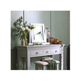 image-Chantilly Grey Dressing Table Mirror