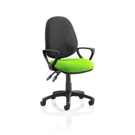 image-Ortez Ergonomic Office Chair Brayden Studio Arms: Fixed, Colour: Myrrh Green