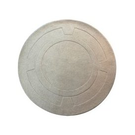 image-Sierra Apollo Ivory Round Rug