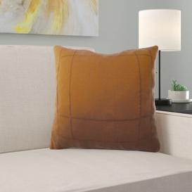 image-Stuyvesant Scatter Cushion (Set of 2) Ophelia & Co. Colour: Chocolate